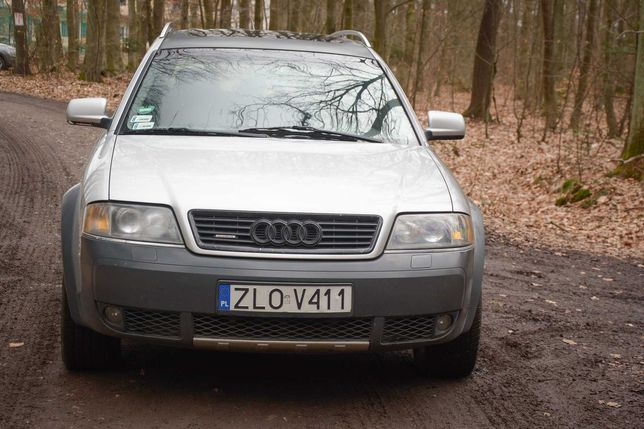 Audi A6C5 2001 Allroad 300  KM LPG