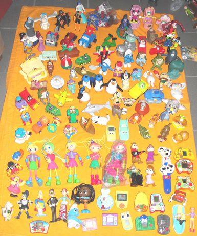 Bonecos da Mcdonalds coleções antigas para revenda