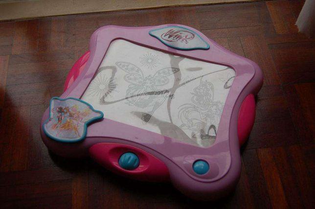 jogo infantil winx - para aprender a desenhar didático