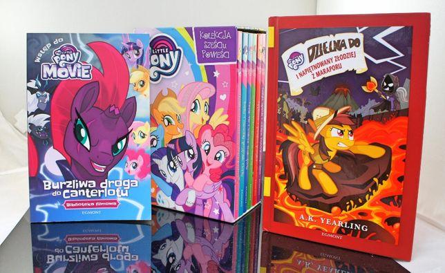 Książki My Little Pony - zestaw 8 książek, bardzo dobry stan