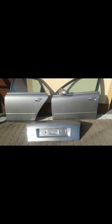 Audi A4B6 ,drzwi tylne lewe i przednie lewe i tylna klapa ,sedan