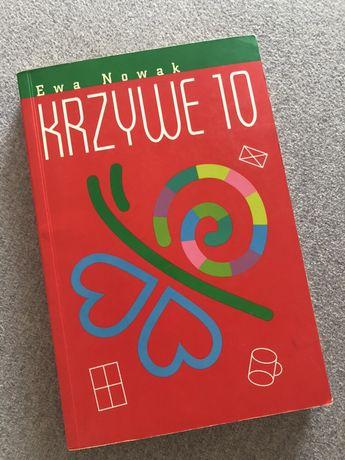 Ewa Nowak Krzywe 10 ksiazka