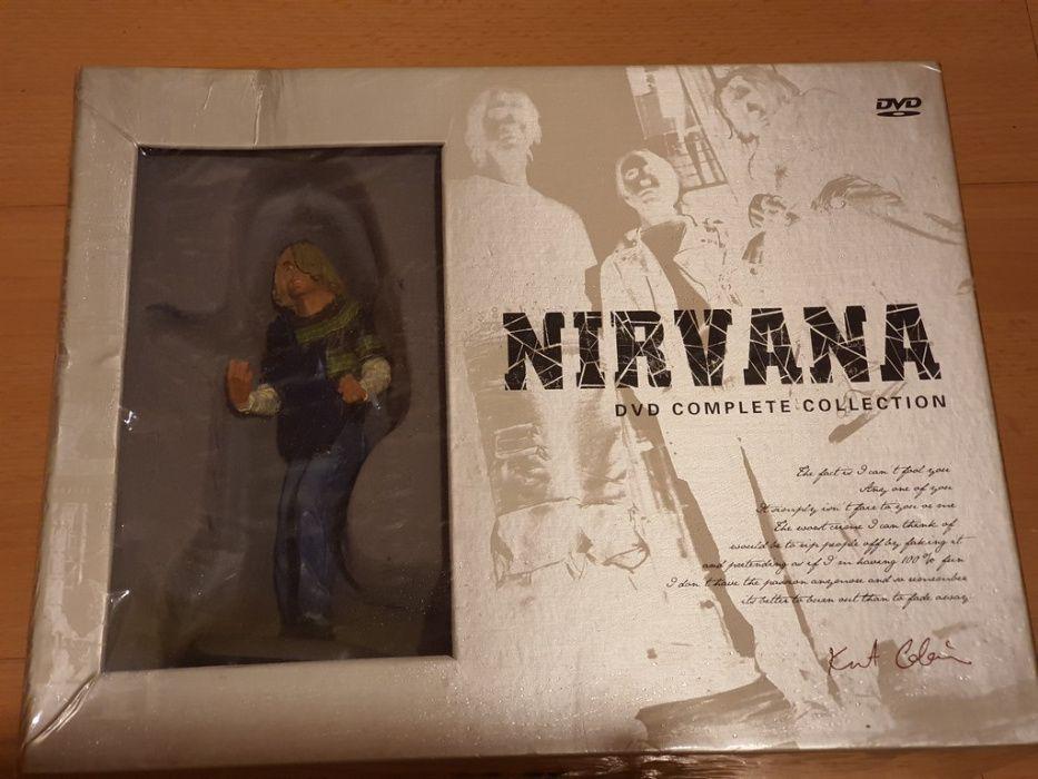 Nirvana - Kurt Cobain 12 DVD Complete Collection box