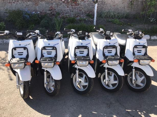 Продам скутер ямаха джеар гір gear 4тактний інжекторний водяне охолодж