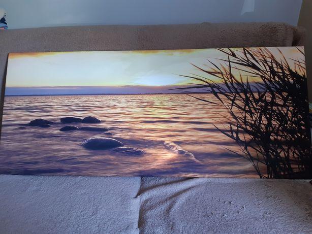 Kanwa, obraz 120x50
