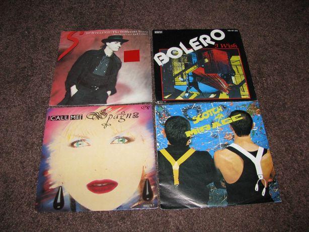 Zestaw singli Italo Disco, płyty winylowe