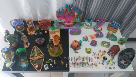 Polly pocket, Castelo da ilusão, mighty max, Disney, Tarzan