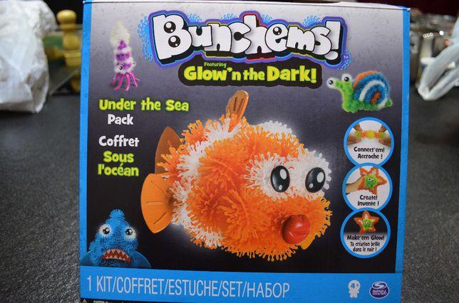BUNCHEMS Podwodny Swiat - Zestaw kreatywny, Kolorowe rzepy