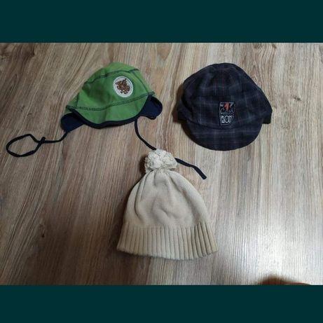 Zestaw 3 czapek, czapki dla malucha
