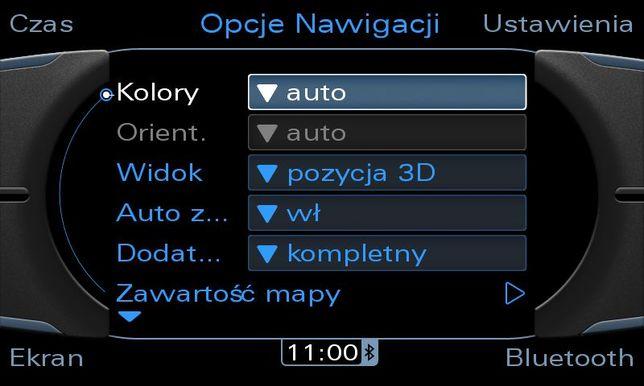 Polskie menu AUDI i BMW , MMI 23g CIC CCC, A4 B8 8k A6 C6 E60 90 70 X5