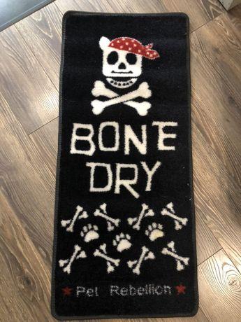 Dywanik dla Pupila pieska, legowisko czaszka. Skull. Rock.