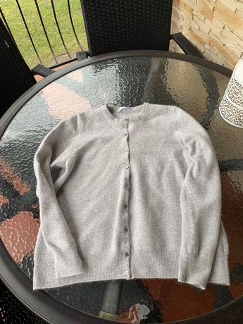 Szary sweterek Autograph 100% kaszmir