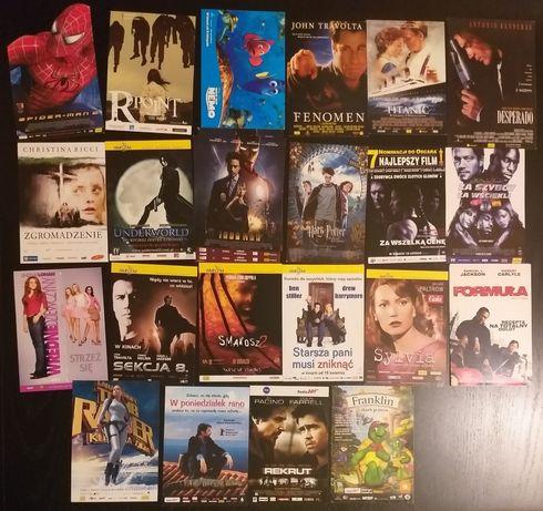 Zamienię, Wymienie ulotki filmowe, kinowe, bajkowe, z kina