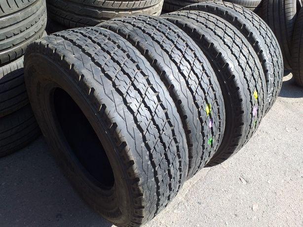 пара 215/70 15С Bridgestone Duravis.15г.7+мм.8+мм.