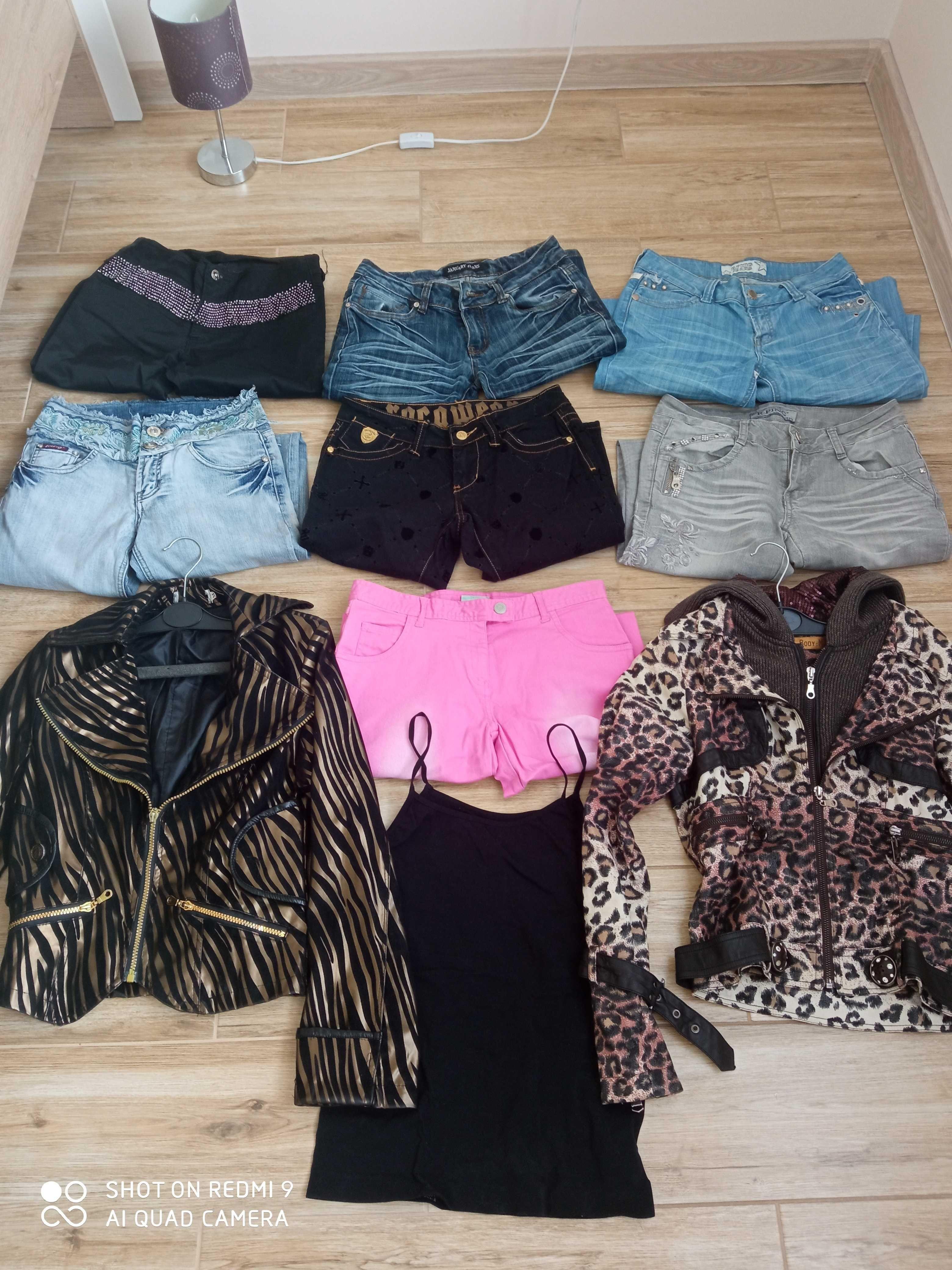 Dużo fajnych ubrań