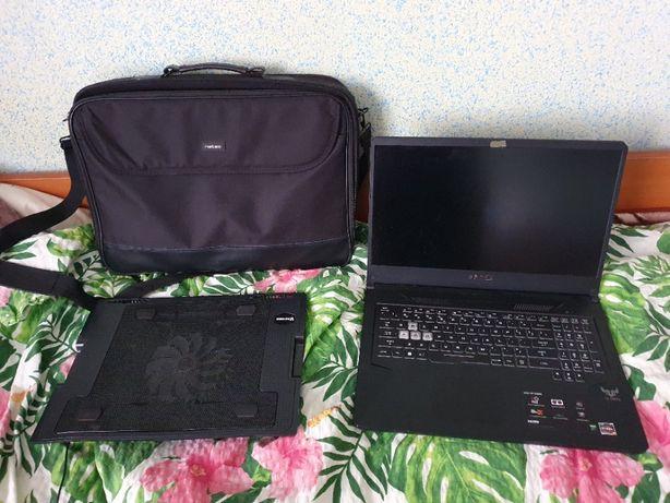 ASUS TUF FX705DT + gratis podstawka chłodząca i torba