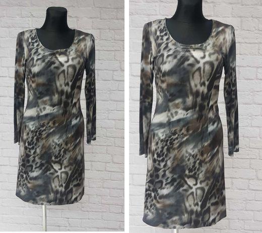 Wężowa sukienka lycra cieniutka S/M