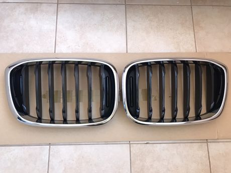 Решетки радиаторов, ноздри Bmw x3 x4 G01 G02, оригинал