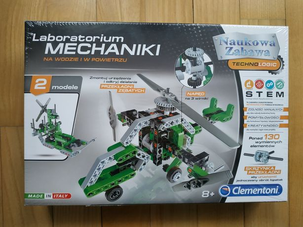 Laboratorium mechaniki, NOWE klocki, jak LEGO