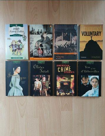 Książki w języku angielskim - poziom 6 (79 zł) + słowniki (35 zł)