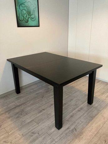 Stół rozkładany Ikea Stornas czarny