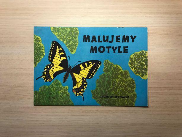 Malujemy motyle obrazki do kolorowania kolorowanka gatunki bajki PRL