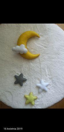 Girlandu księżyce z gwiazdkami różne kolory nowe