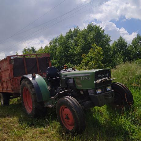 Fendt 260s excelente máquina
