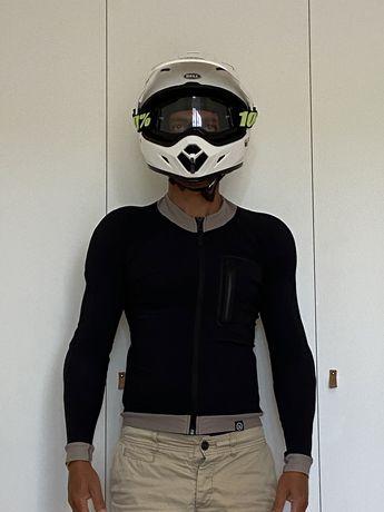 Camisola proteção para motard