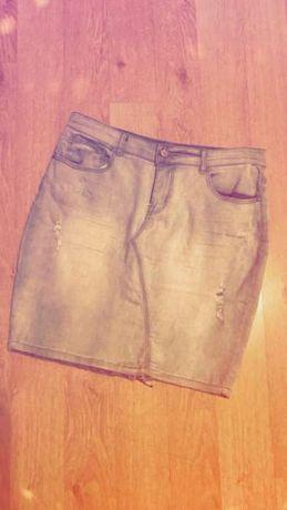 Spódniczka jeansowa elastyczna ołówkowa reserved 40 L nowa damska