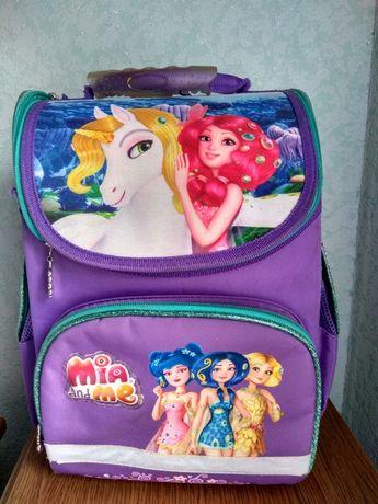 Рюкзак школьный каркасный Kite Mia and Me для девочек