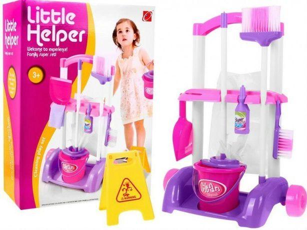 Zestaw do sprzątania dla dzieci Wiaderko Mop Akcesoria