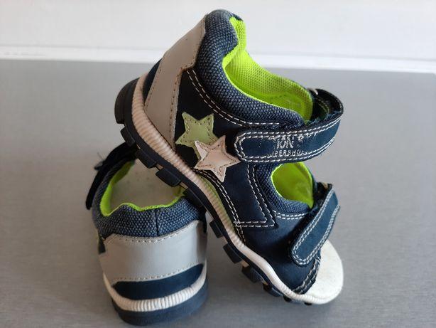 Sandałki chłopięce - rozmiar 25