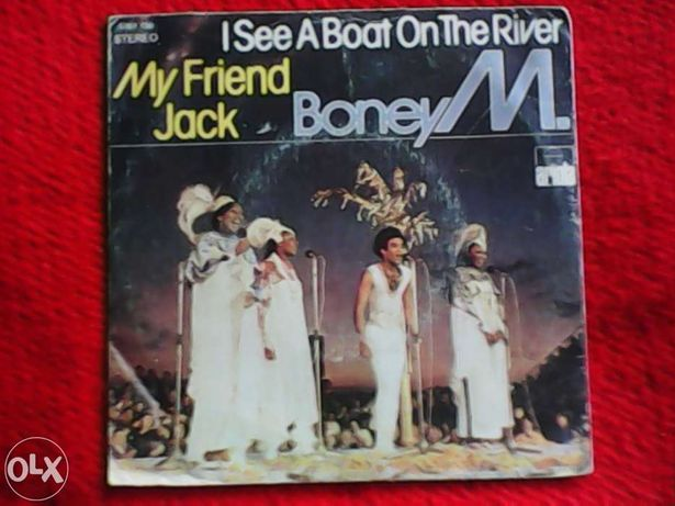 Boney M. - vinil single - 1980