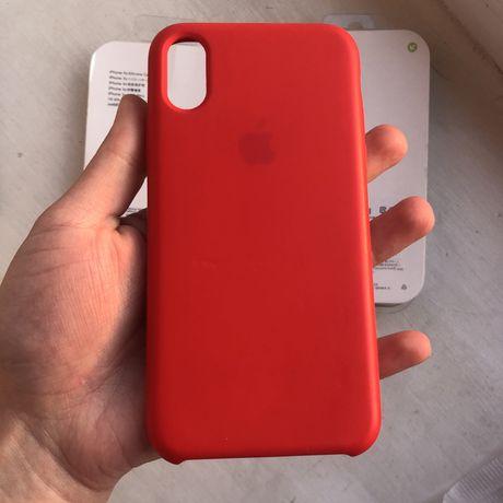 Чехол на iphone X/Xs (Red)