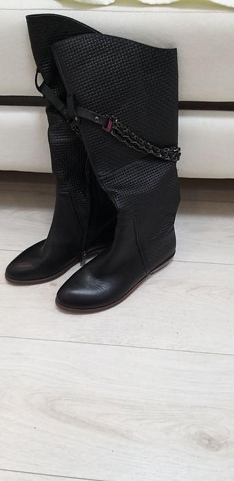 Сапоги кожаные Ширяево - изображение 1