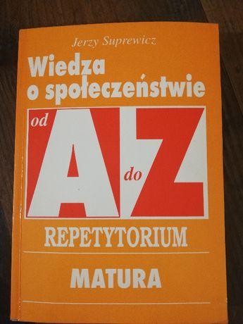 wiedza o społeczeństwie - repetytorium J. Suprewicz