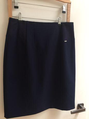 Granatowa spódnica Monari NOWA 42