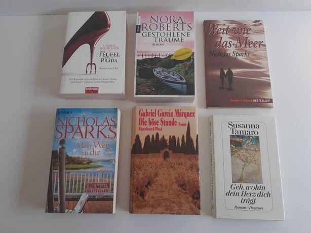 Livros em alemão - venda em separado a partir de 5€