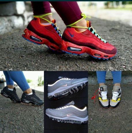 Скидки на остатки женские кроссовки Nike Air Max 95,97,87