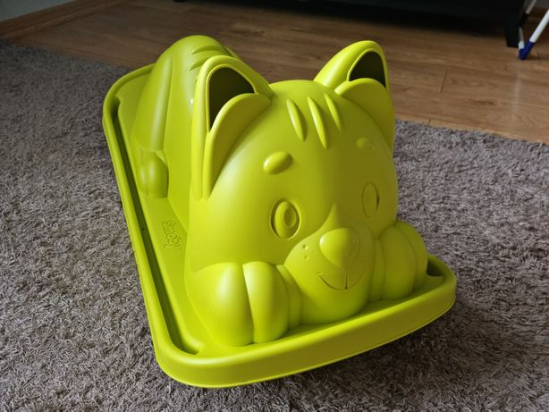Bujaczek Huśtawka ogrodowa Kot zielony, Smoby