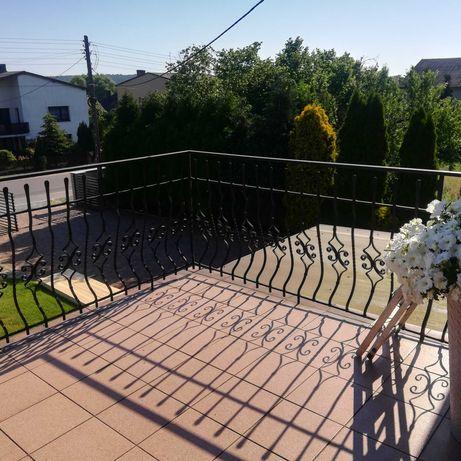Balustrada balkonowa taras 9 mb używana