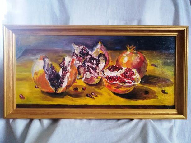 Картина маслом , живопис натюрморт