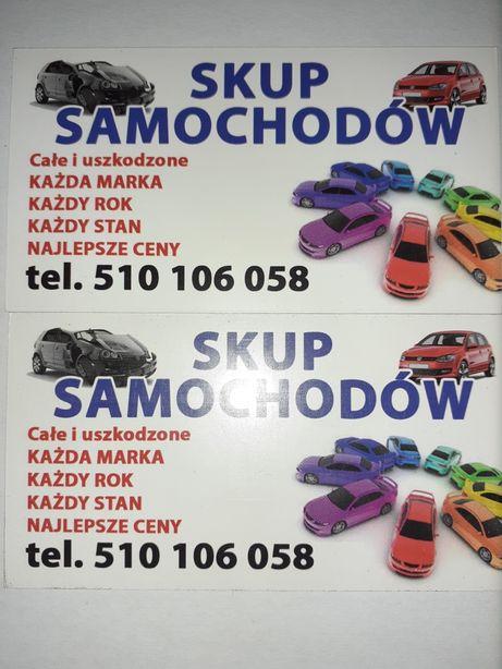 skup aut starogard gdański i okolice