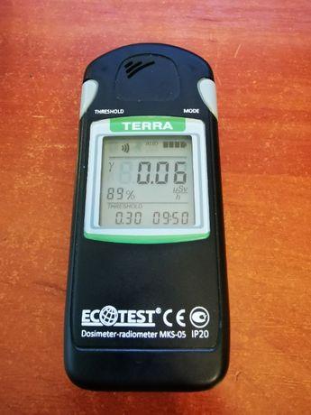 Дозиметр-радиометр МКС-05 ТЕРРА с Bluetooth-каналом