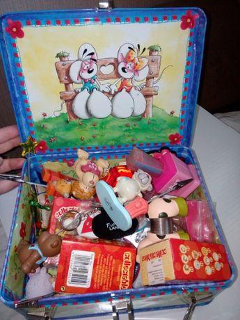 Zabawki Mattel Nici DiddlKitty Ponny Magnesy figurki Ikea Toy Peppa tu