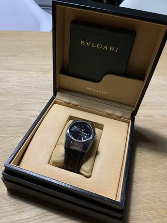Часы женские Bvlgari Ergon EG35S Steel Leather W075