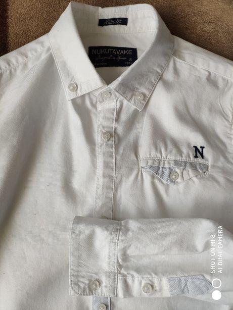 Koszula biała rozmiar 128