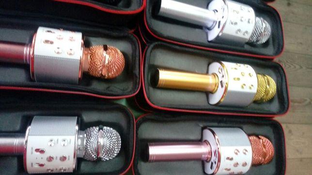 Mikrofon Karaoke Bluetooth Głośnik mp3