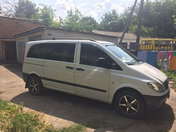Mercedes-Benz Vito пас